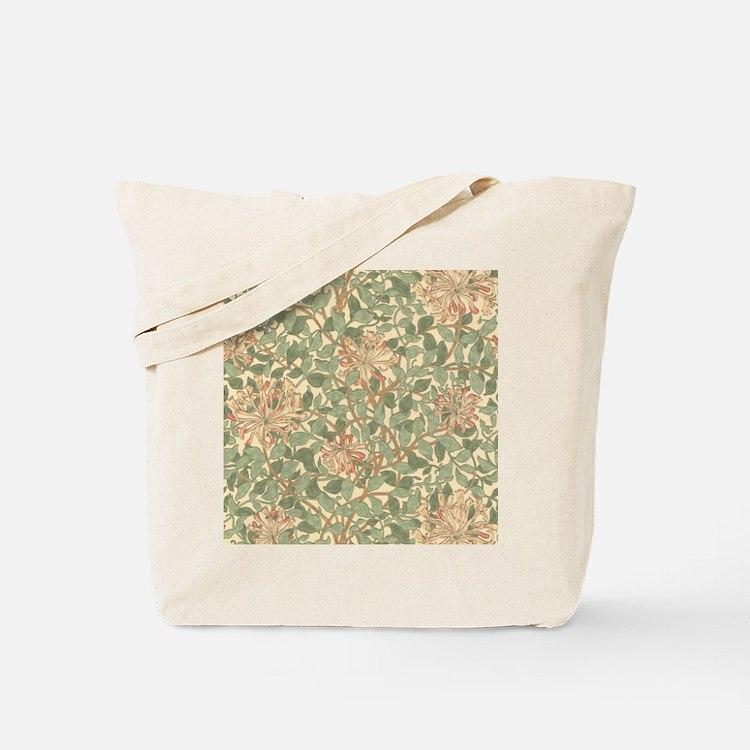 William Morris Honeysuckle Tote Bag
