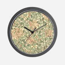 William Morris Honeysuckle Wall Clock
