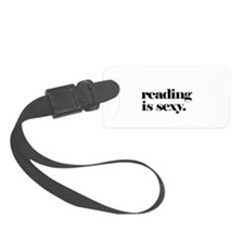 Reading Is Sexy Luggage Tag