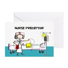 Nurse Preceptor 4 Greeting Cards