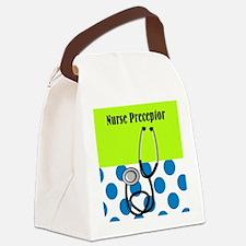 Nurse Preceptor Canvas Lunch Bag