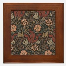 William Morris Compton Framed Tile