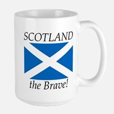 Scotland the Brave Large Mug