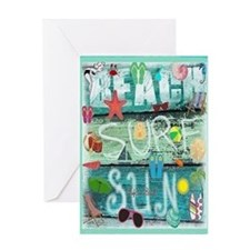 Beach Card Greeting Cards