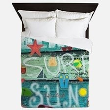 Beach Queen Duvet