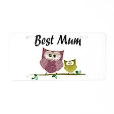 Best Mum Aluminum License Plate