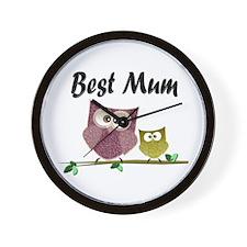 Best Mum Wall Clock