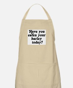 barley today BBQ Apron