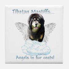 Tibetan Angel Tile Coaster