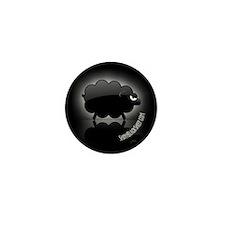Shiny Black Sheep Mini Button (100 pack)