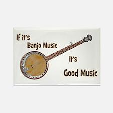 Banjo Music Magnets