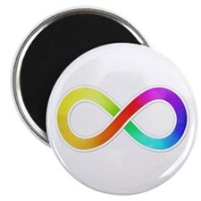Infinity-Sticker Magnets