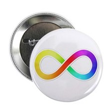 """Infinity-Sticker 2.25"""" Button (10 pack)"""