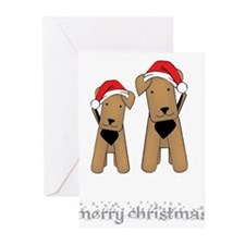 Airedales Greeting Cards (Pk of 20)