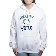 IDEALIST INFJ Women's Hooded Sweatshirt