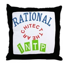 RATIONAL INTP THE ARCHITECT Throw Pillow
