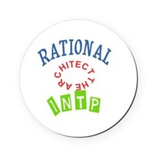 RATIONAL INTP THE ARCHITECT Cork Coaster