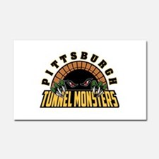 Pittsburgh Tunnel Monsters Car Magnet 20 x 12