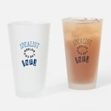 IDEALIST INFJ Drinking Glass