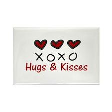 Hugs Kisses Magnets