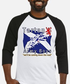 Tartan Army Boys Coming Baseball Jersey