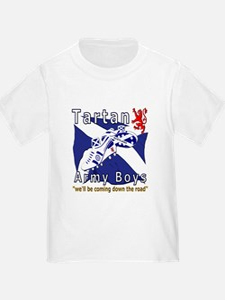 Tartan Army Boys Coming T