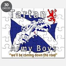 Tartan Army Boys Coming Puzzle
