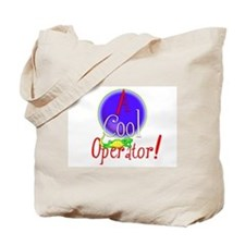 'Cool Operator.1-2 :-) Tote Bag