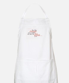 Cute Be the change Apron