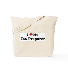 I Love Tax Preparer Tote Bag