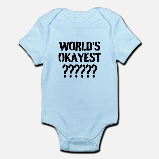 Worlds Okayest | Personalized Body Suit
