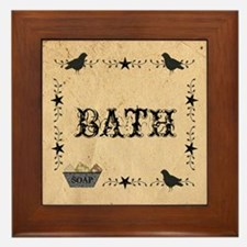 Primitive Bath Framed Tile