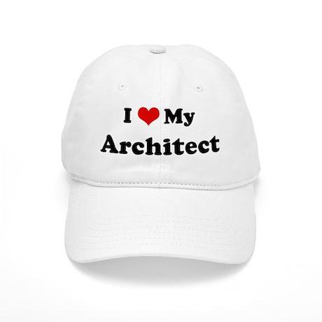 I Love Architect Cap