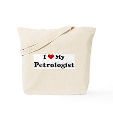 I Love Petrologist Tote Bag