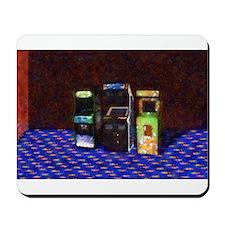 3 Flowering Arcades in Pastel Mousepad