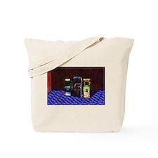 3 Flowering Arcades in Pastel Tote Bag