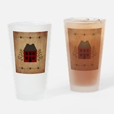 Primitive House Drinking Glass