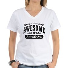 Awesome Since 1974 Shirt