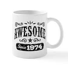 Awesome Since 1974 Mug
