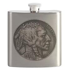 Indian Nickel Flask