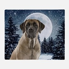 Mastiff Throw Blanket