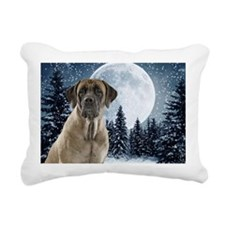 Mastiff Rectangular Canvas Pillow