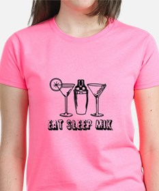 Eat Sleep Mix T-Shirt For Girls Weekend