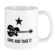 Come and Take It Guitar Mugs