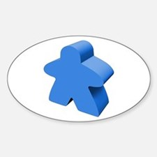 Blue Meeple Decal