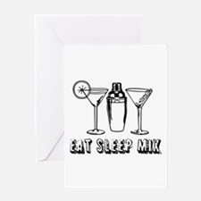 Bartending Greeting Cards
