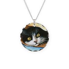 cat 301 tuxedo Necklace