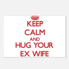Keep Calm and HUG your Ex-Wife Postcards (Package