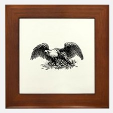 American War Eagle Framed Tile