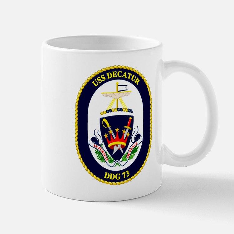 USS Decatur DDG-73 Mug